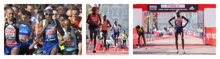Mo Farah Marathon Debut